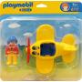 Playmobil 6717 Avion 123(caja Maltratada)
