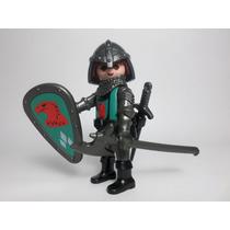 Playmobil Figura Caballero Halcon Medieval Castillo Retromex
