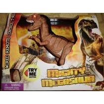 Mighty T Rex Dinosaurio Control Remoto Paseos Roars Light Up