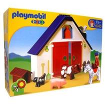 Playmobil 6740 1.2.3 Granja Pequeña!!