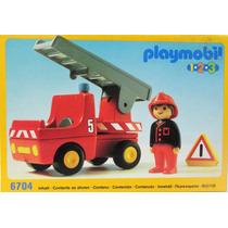 Playmobil 123 Carro De Bomberos
