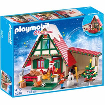 Playmobil 5976 Taller Casa D Santa Claus Navidad Retromex