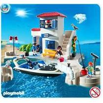 Playmobil 5128 Puerto(policia De Puerto Y Lancha)! Nuevo Dpa