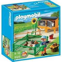 Playmobil 5123 Granja(conejos Con Corral)