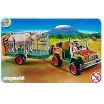 Playmobil 4832 Safari (vehiculo Con Rinoceronte) Gzt