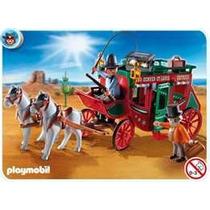 Playmobil 4399 Oeste(diligencia Del Viejo Oeste)!!