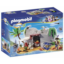 Playmobil 4797 Cueva Pirata Super 4 Medieval Retromex