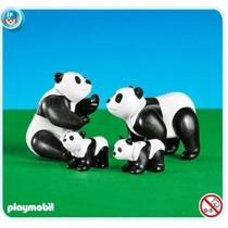 Playmobil 7896 Pandas Familia Add-on