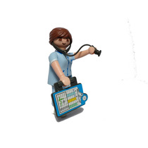 Playmobil 5599 Enfermera #4 Serie 9 Ciudad Hospital Retromex