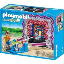 Playmobil 5547 Juego De Tiro Al Blanco!! Gzt