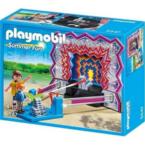 Playmobil 5547 Juego De Tiro Al Blanco!!
