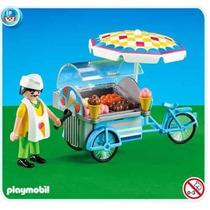 Playmobil 7492 Heladero Paletas Add On Ciudad Retromex