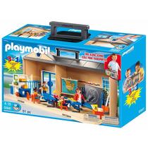 Playmobil 5941 Maletin Set Escuela Ciudad Niños Retromex