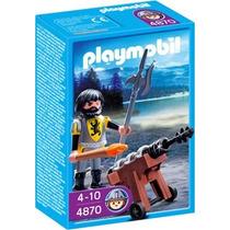 Playmobil 4870 Cañonero De Los Caballeros Del León Gzt