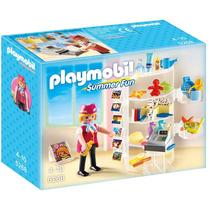 Playmobil 5268 Tienda Del Hotel Caja Maltratada
