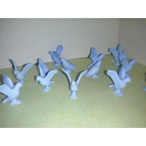 Playmobil Palomas Azules Alas Cerradas Aves Animales Zoo Js