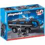 Playmobil 5564 Camion Unidad Especias De Policia Retromex