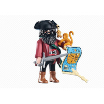 Playmobil 6433 Capitan Pirata Barco Medieval Add On Retromex