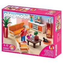 Playmobil 5332 Sala De Estar Casa Ciudad Mansion Retromex
