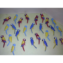Playmobil Guacamayos Loros Pericos Guacamayas Animales Js