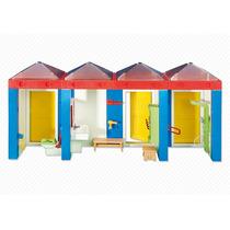 Playmobil 6450 Baños Vestidor Ciudad Escuela Add On Retromex