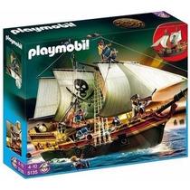 Playmobil 5135 Barco Pirata De Ataque Medieval Retromex!!