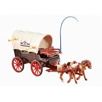 Playmobil 6426 Carreta Del Oeste Vaqueros Add On Retromex