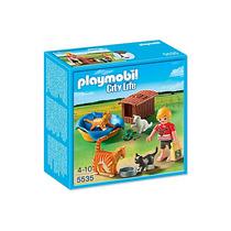 Playmobil 5535. Familia De Gatos. Playmotiendita