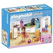 Playmobil 5576 Vestidor Moderno Casa Mansion Lujo Retromex