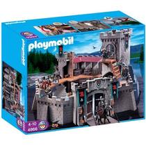 Playmobil 4866 Castillo De Los Caballeros Del Halcon Metepec