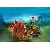 Playmobil 5232 Estegosaurius Con Crías Rosquillo Toys