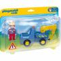 Camión Con Grua 6791 1.2.3 Playmobil Retoys