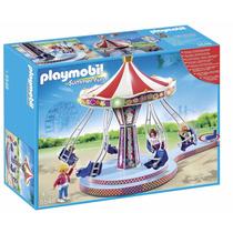 Playmobil 5548 Carrusel De Columpios Voladores Retromex