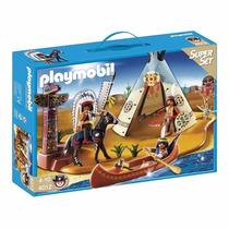 Playmobil 4012 Campamento Indio Fantastico