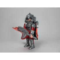 Playmobil Figura Guerrero Dragon Medieval Caballero Retromex