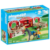 Playmobil Country Pony Stable Modelo 5983