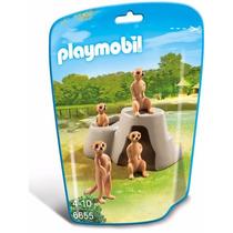 Playmobil 6655 Familia Suricatas Animal Zoologico Retromex