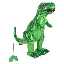 Animal Planet Radio Control Inflable T Rex - 27mhz Verde