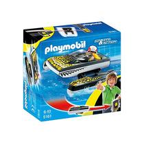 Playmobil 5161 Bote Anfibio Con Clip Cinturón Playmotiendita