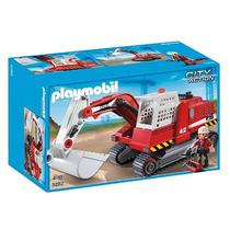 Playmobil 5282 Excavadora Envio Gratis