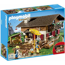 Playmobil Alpine Lodge Playset Modelo 5422