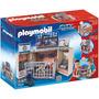 Playmobil 5421 Estación De Policia Portatil Rosquillo Toys