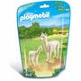 Playmobil 6647 Alpaca Y Cria Animal Zoologico Retromex