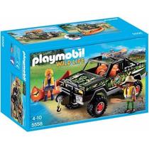 Playmobil 5558 Pick Up Con Canoa Vida Salvaje Retromex