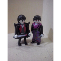 Playmobil Parejas De Vampiros Halloween Terror Custom
