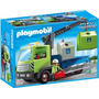 Playmobil 6109 Camion D Contenedores Ciudad Basura Retromex