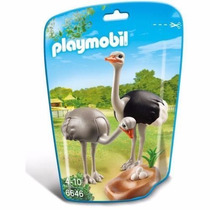 Playmobil 6646 Avestruces Ave Animal Zoologico Retromex
