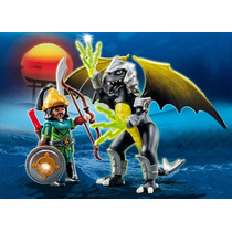 Playmobil 5465 Dragon Tormenta C Samurai Medieval Caballero!