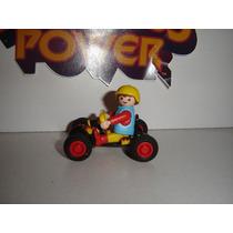Playmobil 4510 Niño Con Go Kart Special