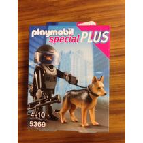 5369 Playmobil Special Plus Policia Con Perro